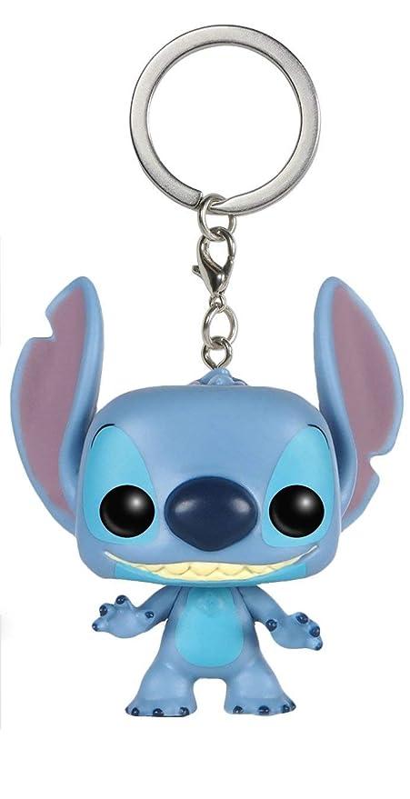 JPTACTICAL Cartoon Lilo & Stitch Mini Figure Keychain