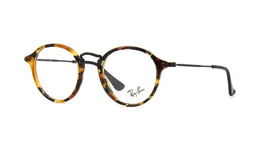 39cad36f1 Óculos de Grau Ray Ban Round Fleck RX2447V 5491-49: Amazon.com.br ...