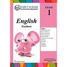 English Language Arts Grade 1 from www.Grade1to6.com Books: Workbook