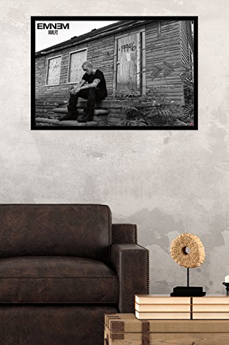 Buy eminem poster framed