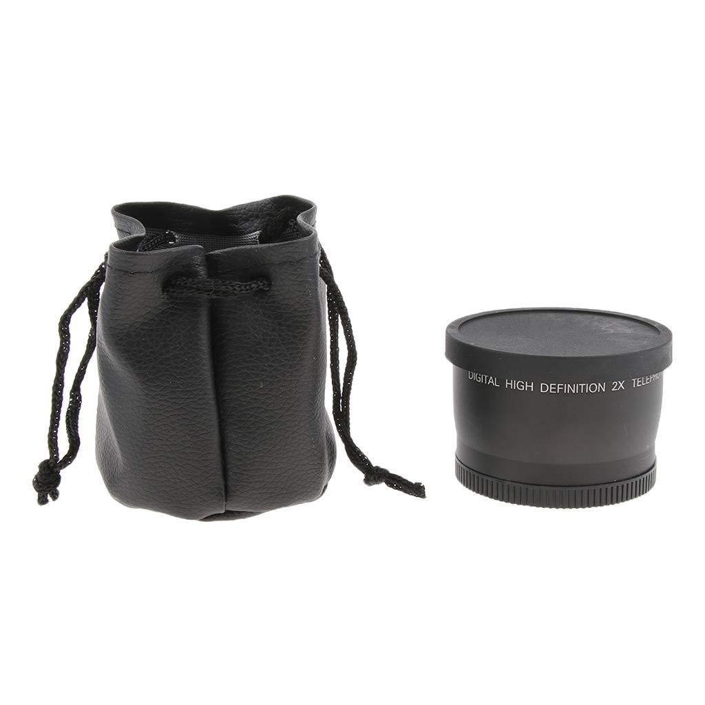 SM SunniMix B07GJLLB88 58mm Olympus 2X 望遠レンズ Canon Nikon Sony Minolta カメラ Pansonic Olympus Pentax Digital SLR カメラ 18-55mm B07GJLLB88, エビノシ:106043e8 --- ijpba.info