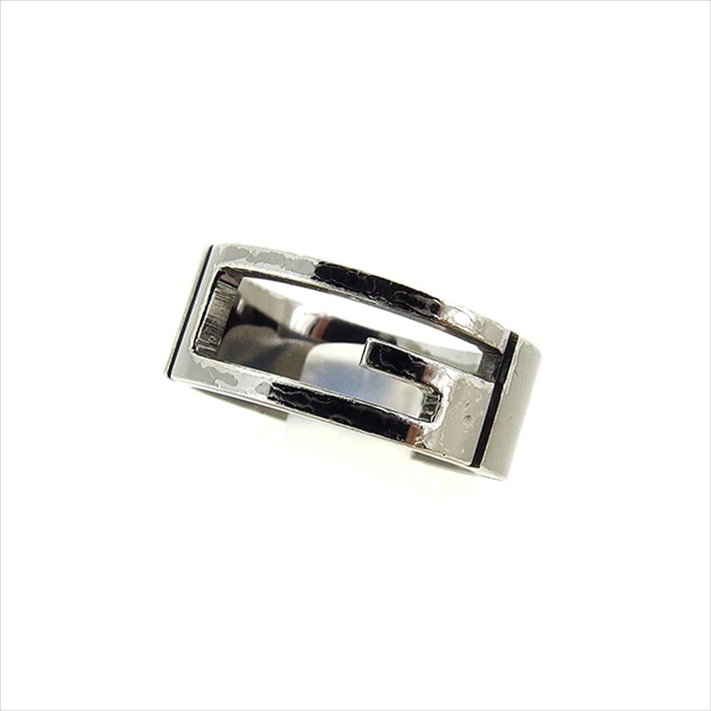 [グッチ] GUCCI 指輪 リング アクセサリー レディース メンズ 可 15号 Gマーク カットアウトG 中古 A1653 B074PSNZ8S