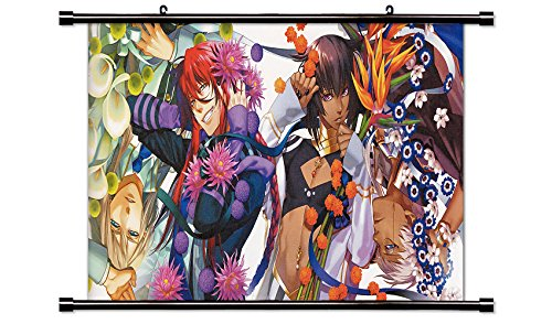 Kamigami no Asobi Anime Fabric Wall Scroll Poster Wp Kamigami no Asobi- 15 L