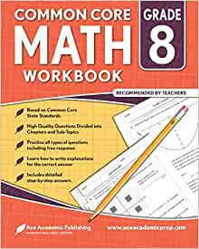 8th grade Math Workbook: CommonCore Math Workbook: Ace ...