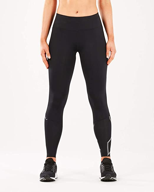 2XU Mid Rise Womens Compression Running Tights