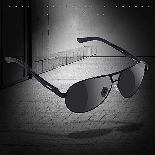 Piloto De De Verano Gafas De Sol Hombres Polarizadas Los De De Gafas De Gafas Protección Aluminio Piloto D Clásico Sol De Gafas FKSW Magnesio Sol De Gafas qHnxUSvwHI