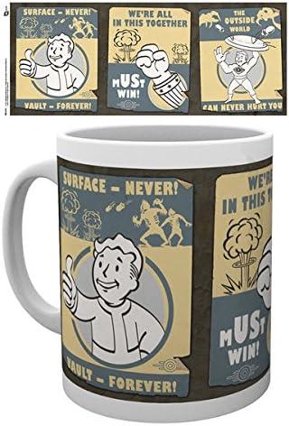 NUKA COLA CERAMIC COFFEE MUG //CUP FALLOUT 4