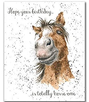 Wrendale designs horse happy birthday card by hannah dale chestnut wrendale designs horse happy birthday card by hannah dale chestnut horse bookmarktalkfo Images