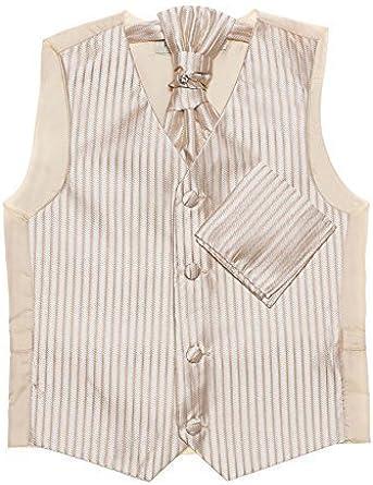 Paisley of London, Dorado niños chaleco, corbata & pañuelo set, De ...