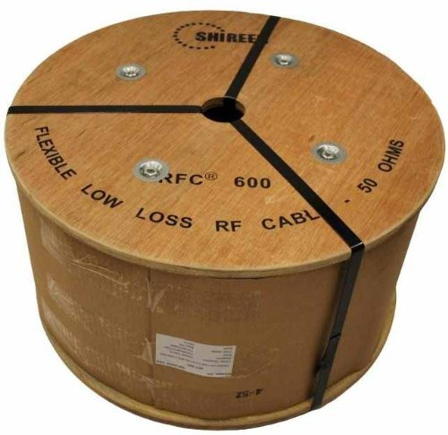 RFC600 500ft spool 600 grade ultra low loss Coax cable 600 by Shireen