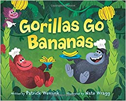 Image result for gorillas go bananas