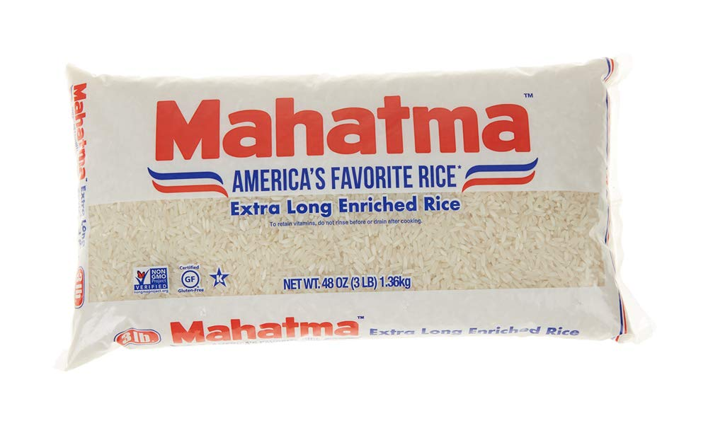Mahatma Enriched Rice, Extra Long Grain, 48 oz