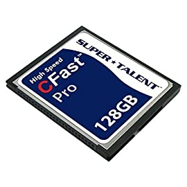 Super Talent Cfast Pro Card 16GB Reliable MLC NAND Type Flash (FDM016JMDF) 9 Capacity: 16 GB Reliable MLC or SLC NAND type flash Minimum 10 year data Integrity
