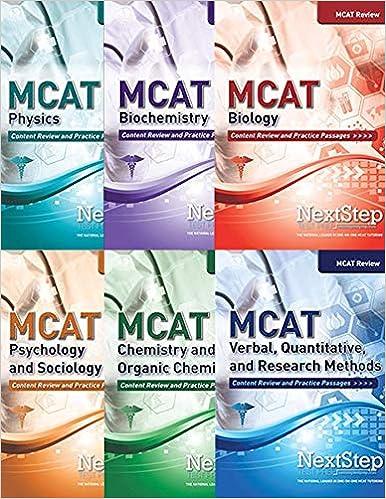 Amazon com: MCAT Complete Review 6-Book Series