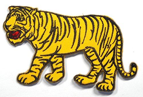 【ノーブランド品】アイロンワッペン ワッペン 動物・魚・生き物ワッペン 刺繍ワッペン トラ 虎 アイロンで貼れるワッペンの商品画像