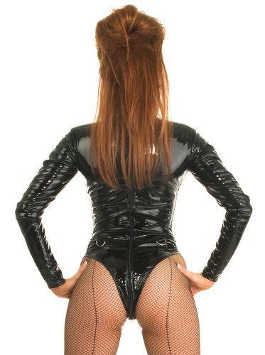 Stecche Top Body Le Tutte Mistress In Con Pvc Taglie Nero 6ptdawq5O