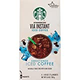 via coffee iced - Starbucks VIA Instant Coffee, Sweetened Iced Coffee, 36 Count
