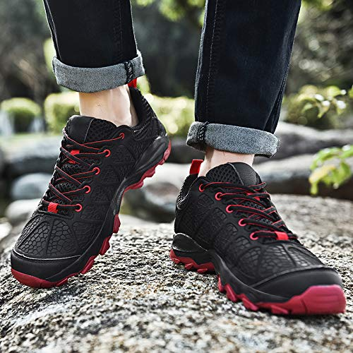 ziitop Hiking Shoes Men Outdoor Trekking Shoes for Men Anti-Slip Lightweight Breathable Quick-Dry