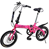 Riscko Super Bike Bicicleta Plegable Unisex DE 16