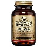 Solgar - Chromium Picolinate 500 mcg, 120 Vegetable Capsules