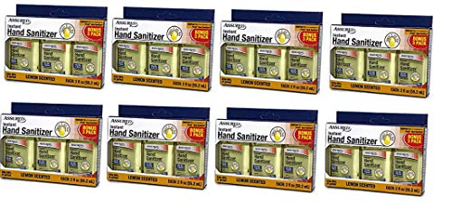(Instant Hand Sanitizer with Moisturizers 2 Oz Travel Size - Packaging May Vary (Pack of 24) (Lemon))