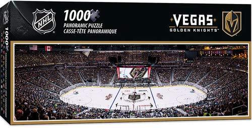 MasterPieces NHL Vegas Golden Knights 1000 Piece Stadium Panoramic Jigsaw Puzzle