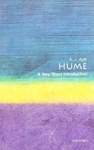 Very Short Introductions Book Series Hume