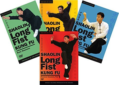 DVD Bundle: Shaolin Long Fist Kung Fu 4-DVD set by Dr. Yang & Nicholas Yang (YMAA) by YMAA Publication Center