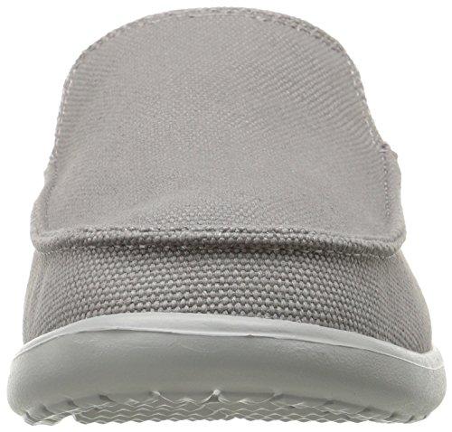 Crocs Men's Santa Cruz Clean Cut Loafer Smoke/Light Grey buy cheap low price fee shipping qZlBjjI5jc