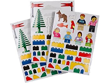 Lego Large Wall Stickers u0026 Room Decorations