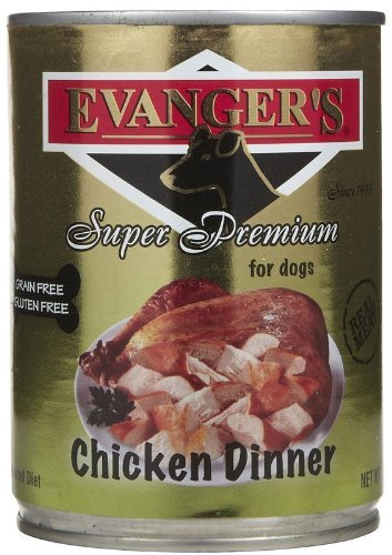 Evanger'S Super Premium For Dogs Cooked Chicken Dinner With Chunks, 12-Pack