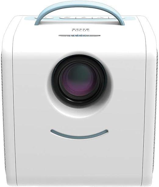 John-L Proyector,Mini proyector portatil para niños con Control ...
