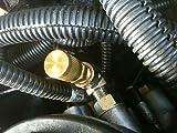 Ford 7.3 Diesel Powerstroke Fuel Pressure Test Port/Adapter Viton Schrader valve
