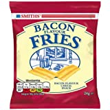 Smiths Bacon Flavour Fries Crisps 24g Case of 24