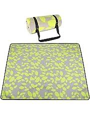 SKYSPER Picnic deken geïsoleerde picknickmat stranddeken waterdicht campingdeken picknickdeken fleece opvouwbaar wasbaar picknickmat 200 x 200 cm met draaggreep
