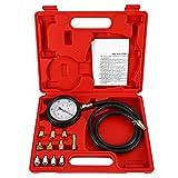 8milelake Engine Oil Pressure Tester Gauge Diagnostic Test Kit 500PSI w/Case