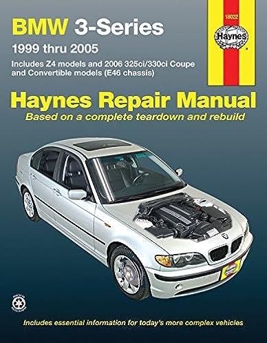 bmw 3 series 1999 2005 z4 325ci 330ci convertible haynes repair rh amazon com Vehicle Repair Manuals Haynes Repair Manual 1987 Dodge Ram 100