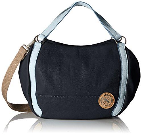 Mustang Maine Flor Handbag Lhz, Borsette da polso Donna Blu (Dark Blue)