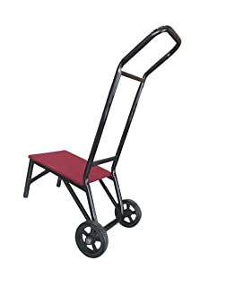 amazon com national public seating 9000 series stacking chair dolly
