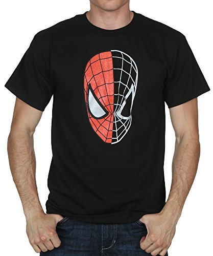 Spider-Man Half Gone Spidey Head mens t-shirt sf183ms