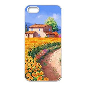 The country beautiful scenery Phone Case for iPhone 5S(TPU)