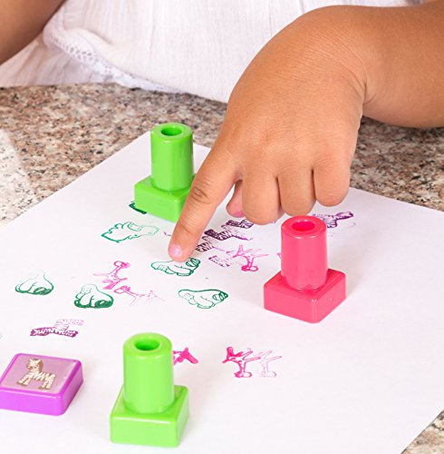 Buy Self Inking Animal Stamps Set For Kids Online At Low Prices In India
