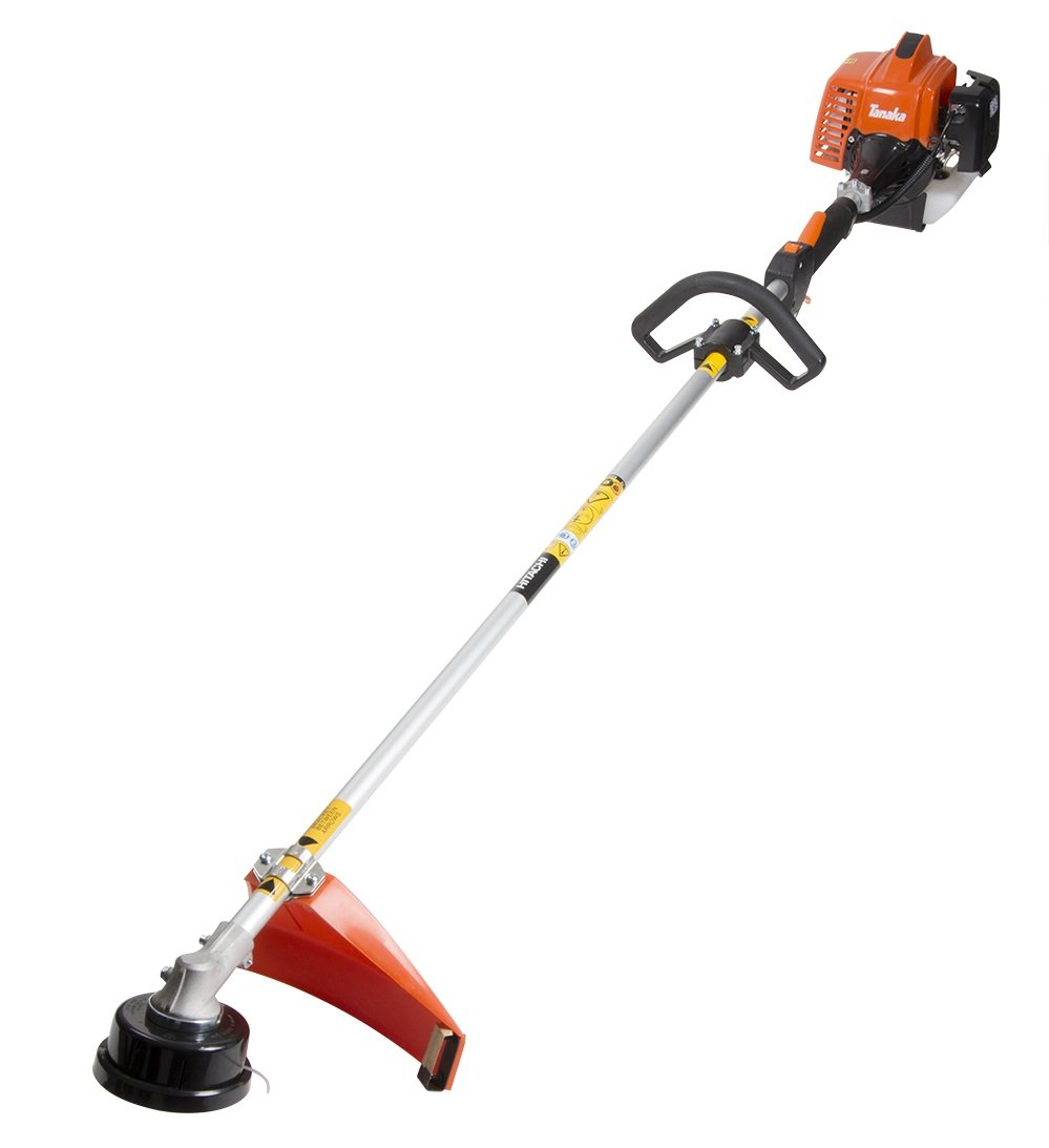 Tanaka- 22.5cc 2-Cycle Gas-Powered String Trimmer, Solid Steel Drive Shaft