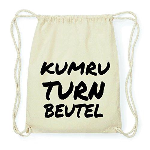 JOllify KUMRU Hipster Turnbeutel Tasche Rucksack aus Baumwolle - Farbe: natur Design: Turnbeutel OA3TAPW