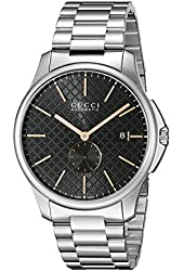 "Gucci Men's YA126312 ""G-Timeless"" Collection Swiss Automatic Watch"
