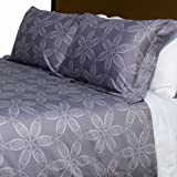 London - Cloudburst Grey Duvet Set, King