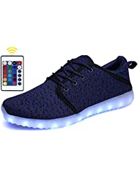 Breathable LED Light Up Shoes With Remote for Womens Mens