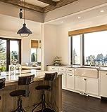 "Kira Home Sequoia 13"" Large Industrial Farmhouse"