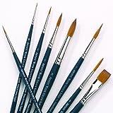 Winsor & Newton Artists Watercolor Sable Brush Rigger 5