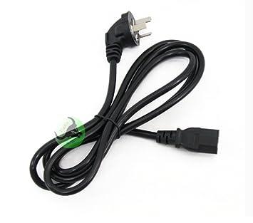 ZhenBaoTian 5pcs 1.5 Meter Cable de alimentación del ordenador de ...